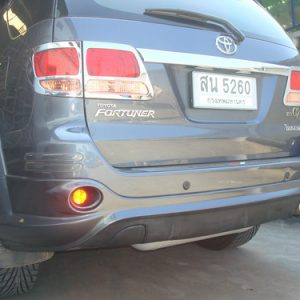 Bodykit Toyota Fortuner TRD2 – Plastic ABS (Grade A)