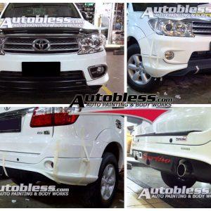 Bodykit Toyota Fortuner TRD2