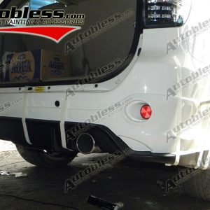 Bodykit Toyota Fortuner TRD3 – Plastic ABS (Grade C)