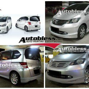 Bodykit Honda Freed Mugen (2009-2011) – Plastic ABS (Grade C)