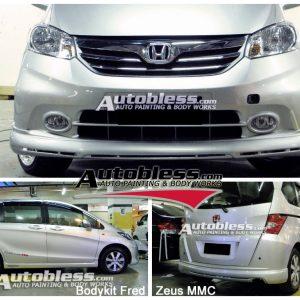 Bodykit Honda Freed Zeus MMC – Plastic ABS (Grade B)