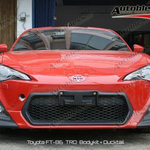 Bodykit Toyota FT86 TRD – FRP