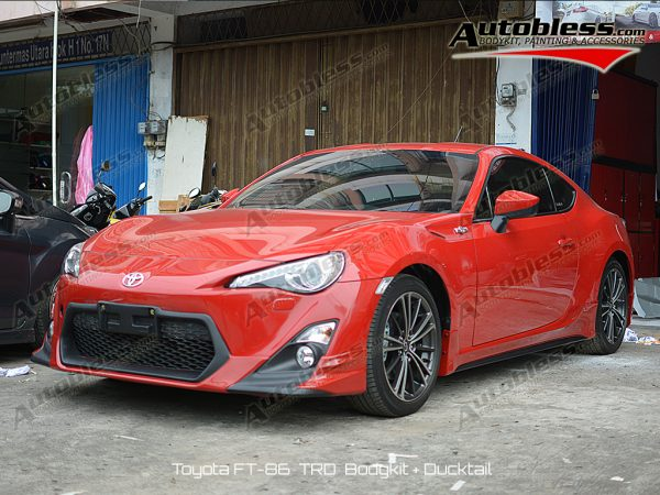 Bodykit Toyota FT86 TRD – FRP
