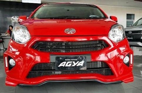 Bodykit Toyota Agya / Daihatsu Ayla Furious – Plastic ABS (Grade B)