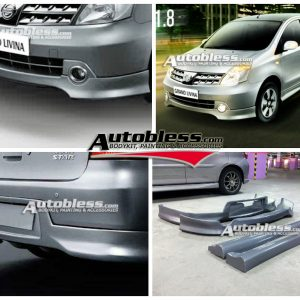 Bodykit Nissan All New Grand Livina Highwaystar 2008 – Plastic ABS (Grade C)