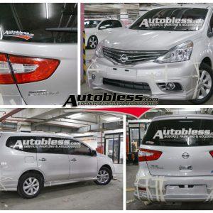 Bodykit Nissan All New Grand Livina Impul 2013 – Plastic ABS (Grade B)