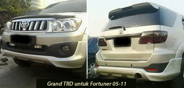 Toyota Fortuner 2005-2011 Grand TRD 2012 Style – FRP
