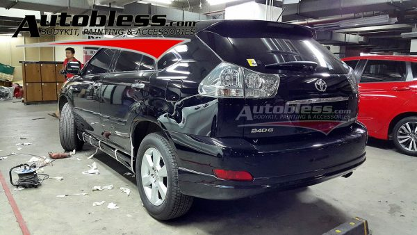 Bodykit Toyota Harrier Wald – High Quality FRP (Grade B)