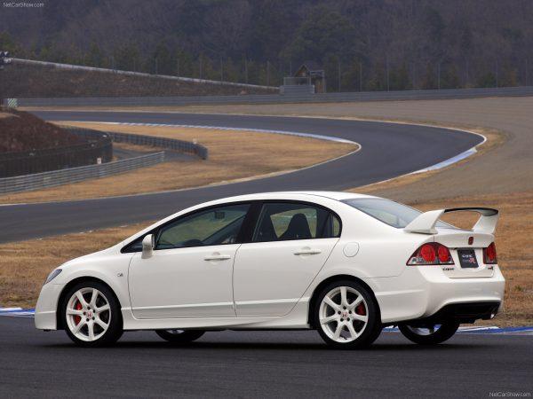 Wing Spoiler Honda Civic FD1 Type R – FRP