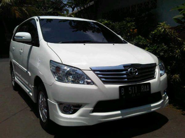 Bodykit Toyota Innova Grand Luxury (TRD) 2011 – Plastic ABS (Grade A)