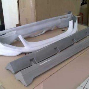 Bodykit Daihatsu Sirion RS – Plastic ABS (Grade A)