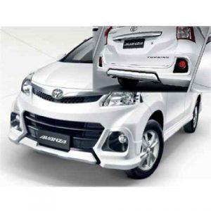 Bodykit Toyota All New Avanza Veloz TRD – Plastic ABS (Grade B)