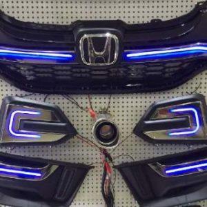Garnish LED Front Honda Jazz GK5 Modulo – Plastik PP (Grade S)