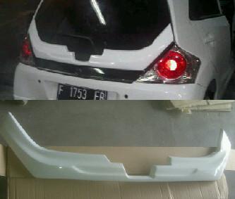 Ducktail Honda Brio Satya – Plastik ABS (Grade B)
