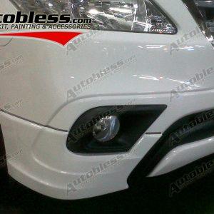 Bodykit Toyota Innova Grand Luxury (TRD) 2014 – Plastic ABS (Grade A)