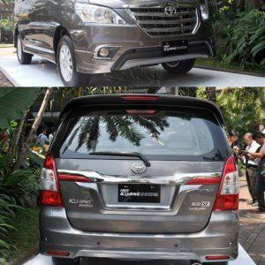 Bodykit Toyota Innova Grand Luxury (TRD) 2014 – Plastic ABS (Grade C)