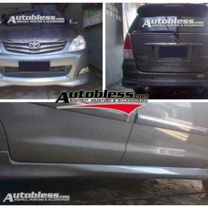 Bodykit Toyota Innova TRD 2008-2011 – Plastic ABS (Grade C)