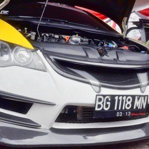 Bumper Intake Js Racing Honda Civic FD Type R – FRP