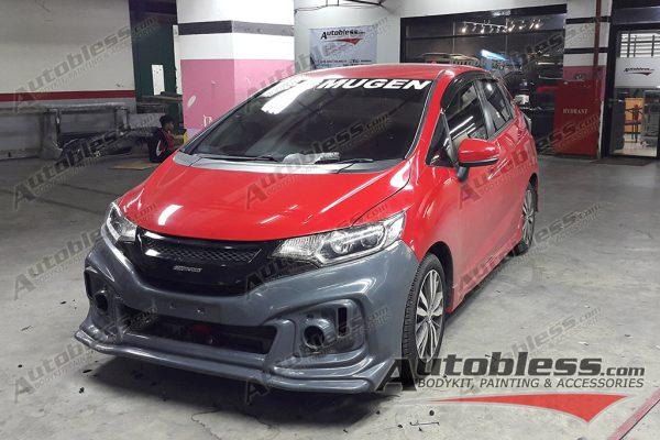 Grille Honda Jazz GK5 Mugen – Plastik ABS (Grade S) Import Taiwan