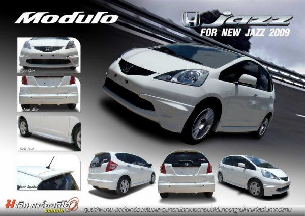 Bodykit Honda Jazz Modulo 2008 – Plastic ABS (Grade C)