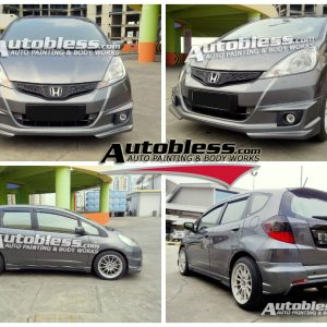 Bodykit Honda Jazz MMC Mugen LG Indonesia – Plastic ABS (Grade C)