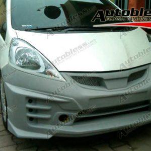 Bodykit Honda Jazz Mugen RS 2011 Adaptasi 2008 – Plastic ABS (Grade B)
