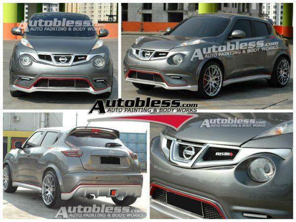 Bodykit Nissan Juke Nismo – FRP