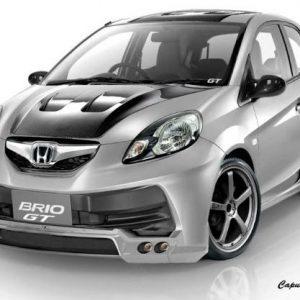 Kap Mesin Carbon Honda Brio GT Style