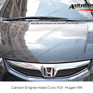 Kap Mesin Carbon Honda Civic FD 2006-2011 – Model Mugen RR