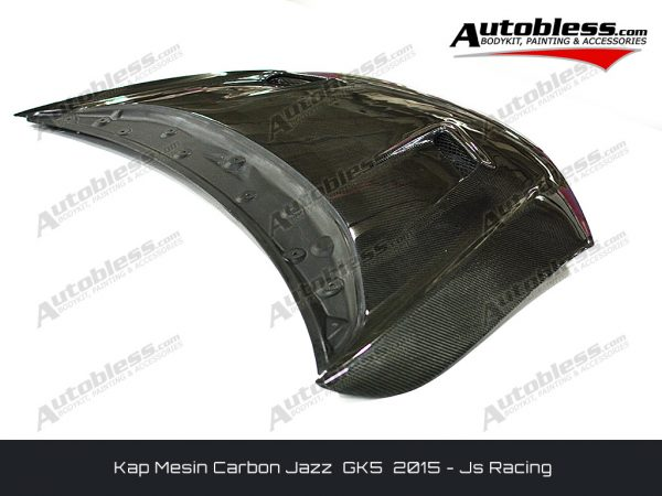 Kap Mesin Carbon Honda Jazz GK5 – Model Js Racing