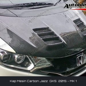 Kap Mesin Carbon Honda Jazz GK5 – Model MK1