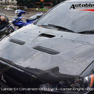 Engine Hood Mitsubishi Lancer EX Conv. EVO X – FRP Import Taiwan