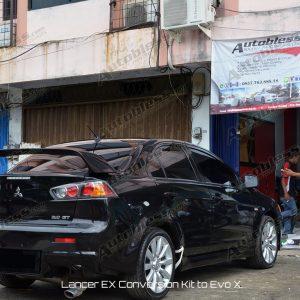 Bodykit Mitsubishi Lancer EX Conv. EVO X – Plastik PP (grade S) Import Taiwan