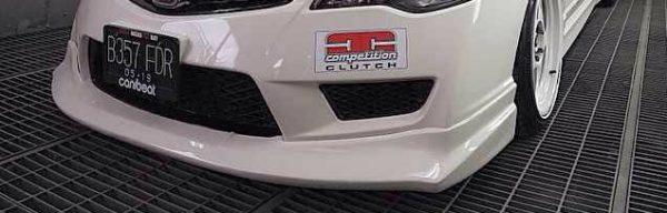 Front Lips Js Racing Honda Civic FD Type R – FRP