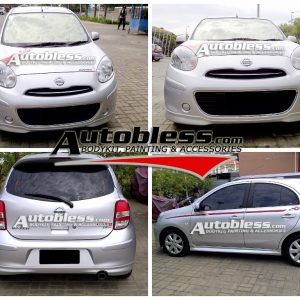 Bodykit Nissan March Nismo – Plastic ABS (Grade C)