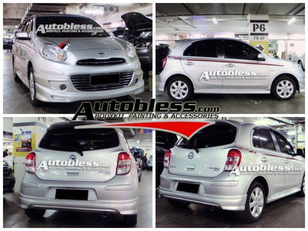 Bodykit Nissan March RX – Plastic ABS (Grade C)
