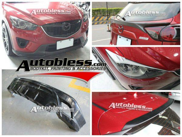 Bodykit Mazda CX5 MP Style – FRP