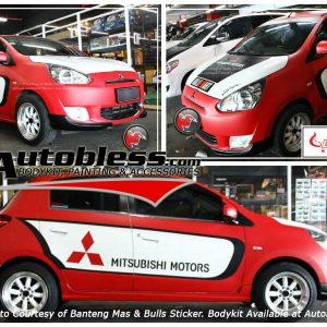 Bodykit Mitsubishi Mirage Ralliart – Plastic ABS (Grade C)
