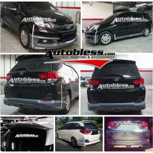 Bodykit Honda Mobilio Mugen Ver.2 – Plastic ABS (Grade B)