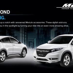 Bodykit Honda HR-V Modulo – Plastic ABS (Grade A) Import Thailand