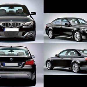 Bodykit BMW E60 M-Tech 2003-2009 – Plastic PP (Grade S) Import Taiwan