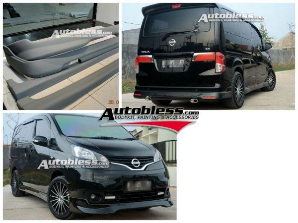 Bodykit Nissan Evalia – Plastic ABS (Grade B)