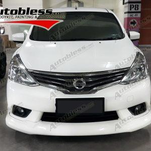 Bodykit Nissan All New Grand Livina Highwaystar 2013 – Plastic ABS (Grade B)