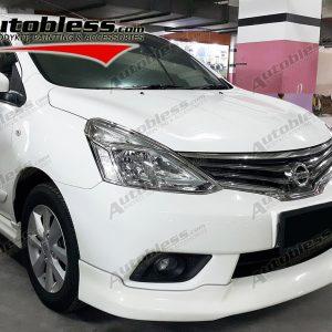 Bodykit Nissan All New Grand Livina Highwaystar 2013 – Plastic ABS (Grade C)