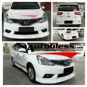 Bodykit Nissan All New Grand Livina Highwaystar 2013 – Plastic ABS (Grade C)