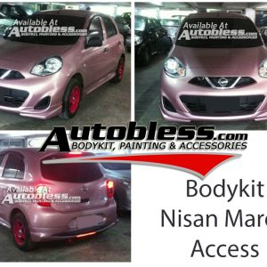 Bodykit Nissan March Access 2014 – FRP