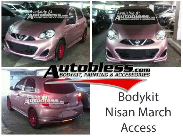 Bodykit Nissan March Access 2014 – FRP