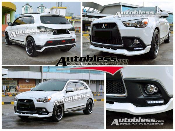 Bodykit Mitsubishi Outlander Sport SR – FRP