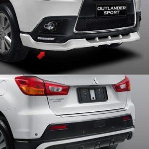 Bodykit Mitsubishi Outlander Sport SR – Plastic ABS (Grade C)