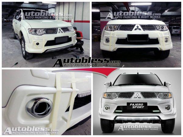 Bodykit Mitsubishi Pajero Sport Limited 2013 – Plastic ABS (Grade C)